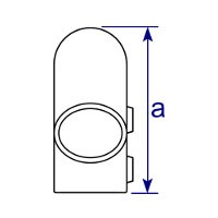 Dimensions Image 2 - 123 - Variable Elbow (40° - 70°)